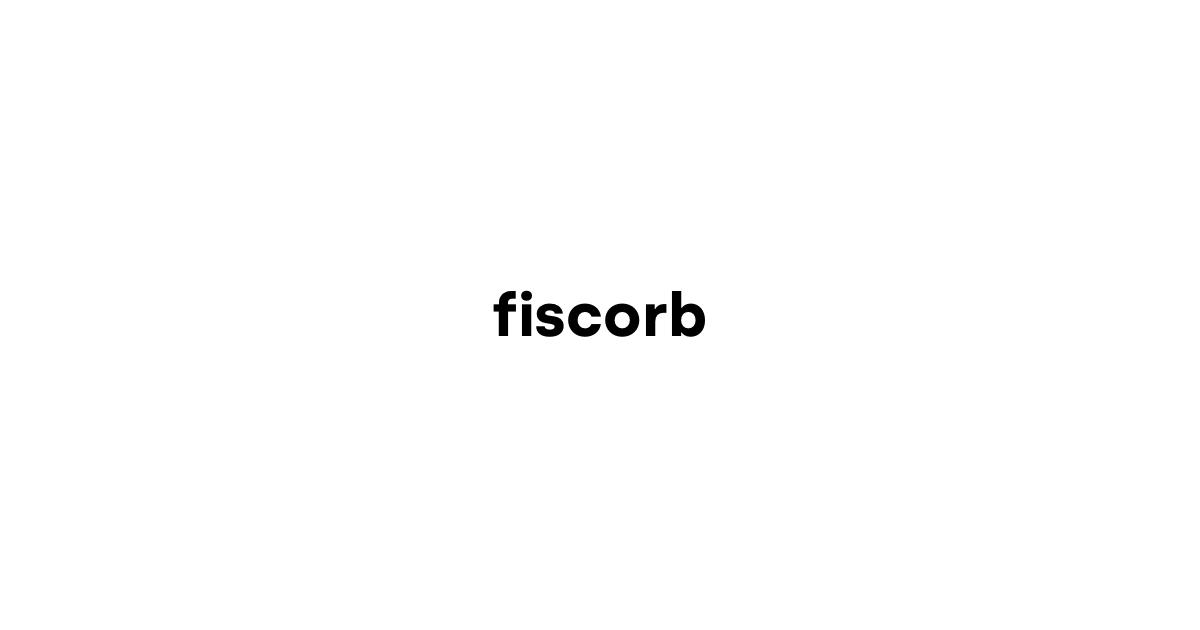 Politique de confidentialité - Fiscorb
